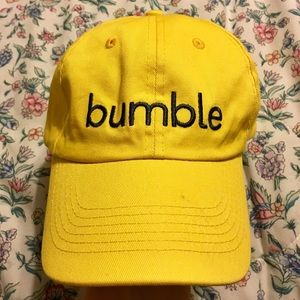 Bumble Dating App Yellow Baseball Hat